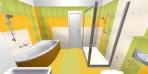 Návrh koupelny RAKO Salsa