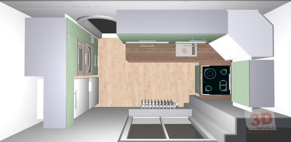 78044772733c Rekonstrukce malé kuchyně - fotogalerie