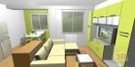 Obývací pokoj 3D návrh
