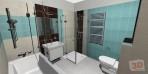 návrh koupelny RAKO Frostica